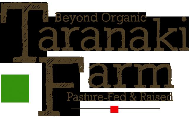 Taranaki Farm : Beyond Organic